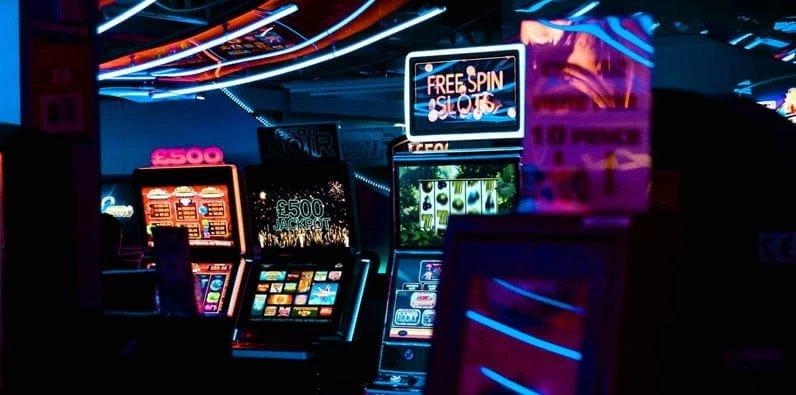 Slot machines in casinos